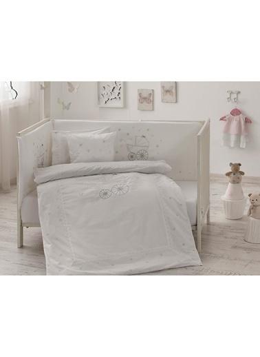 Taç Happy Baby Bebek Uyku Seti Gri